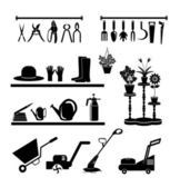 Gardening tools collection — Stock Vector