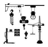 Lifting machinery — Stock Vector