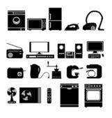 Urządzenia elektroniczne do domu — Wektor stockowy