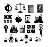 Human Resources Management icons — Stock Vector