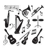 音乐图标 — 图库矢量图片