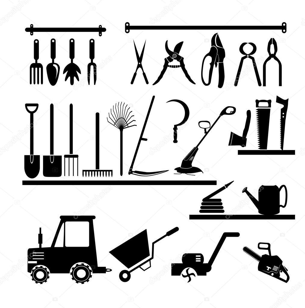 Colecci n de herramientas jardiner a archivo im genes - Herramientas de jardineria 94 ...