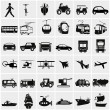 Transportation icons — Stock Vector #47433433