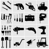 Industrial Tools — Stock Vector