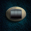 Button on an abstract background — Stockfoto