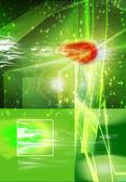 Abstrato verde — Fotografia Stock