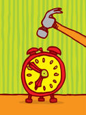Tuer la notion de temps — Vecteur