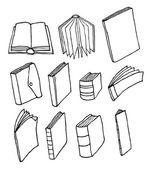 漫画の印刷された媒体または編集セット — ストックベクタ