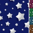 Seamless night. stars background wallpaper - Imagen vectorial