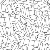 Paper design seamless pattern — Stock Vector