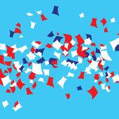 Party Parade Confetti — Stock Vector