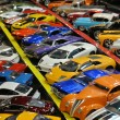 Miniature car collection — Foto Stock