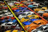 Miniatuur auto collectie — Stockfoto
