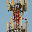 Stock Photo: Close up on telecommunication antenna