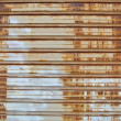 Rusty metal curtain 3 — Stock Photo