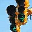 Go both ways on traffic light — Stock Photo #29404491