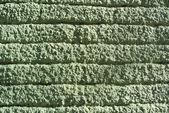 Zelená stěna s texturou, grunge — Stock fotografie