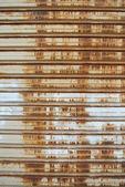 Tenda del metallo arrugginito 2 — Foto Stock