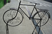 Ornamented decoration bicycle — Stock Photo