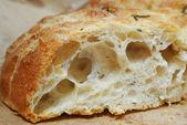 Focaccia bread closeup — Stock Photo