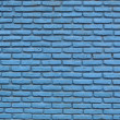 Blue brick texture background — Stock Photo