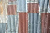 Sfondo di ferro ondulato — Foto Stock