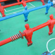 Stock Photo: Foosball table player