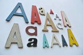 Different typography styles — Stock Photo