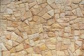 把岩石堆在一堵墙 — 图库照片