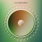 Modern loudspeaker — Stock Photo