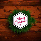 Merry christmas ontwerp — Stockvector