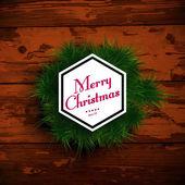 Wesołych świąt bożego narodzenia projekt — Wektor stockowy