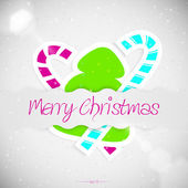 Merry Christmas greeting card — Vetorial Stock
