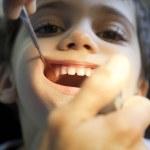 Fun In Dentist — Stock Photo