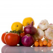 Bunch of Organic Foods - Stock Photo