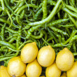 Green Peppers And Lemons — Stock Photo #23161900