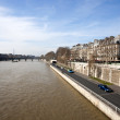 View from the Pont Neuf - 图库照片