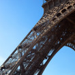 Detail Shot of Eiffel Tower — Stock Photo