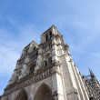 Entrance of Notre Dame Cathedral — Stock Photo #23325364