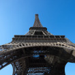 Eiffel Tower from Low Angle — Stock Photo