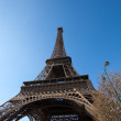Eiffel in Spring — Stock Photo