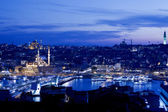 Golden Horn at Night — Stock Photo