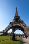 Eiffel Tower Wide Shot — Stock Photo