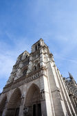 Entrance of Notre Dame Cathedral — Stock Photo