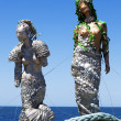 Stock Photo: Two Mermaids