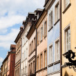 Colorful Houses at Warsaw - Stock Photo