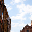 Stock Photo: Detail of Houses at Old Town Square