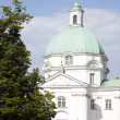 St. Casimir Church in Warsaw - Stock Photo