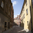 Old Street in Warsaw - Stock Photo