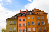 Colorful Houses in Old Town — Stock Photo